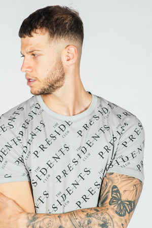 Men's Gates T-Shirt in Grey