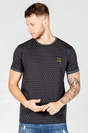 Men's Bash T-Shirt in Black