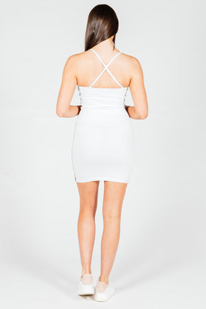 Women's Omega Dress in White