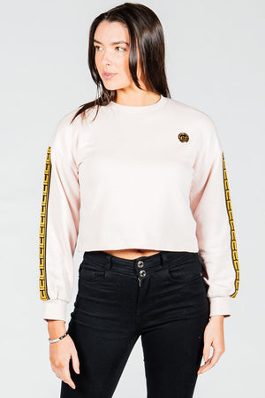 Women's Figaro Sweatshirt in Pink