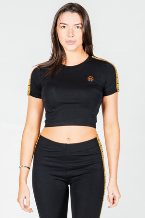 Women's Cobra T-Shirt in Black