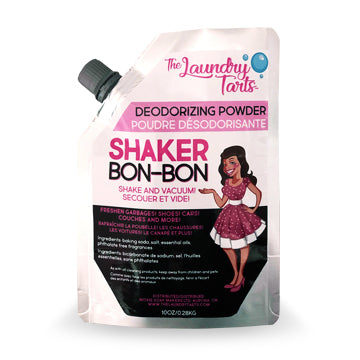 Shaker Bon-Bon Deodorizing Powder (10oz) - The Laundry Tarts