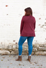 Load image into Gallery viewer, Annabeth Cardigan in Burgundy - Deal of the Week