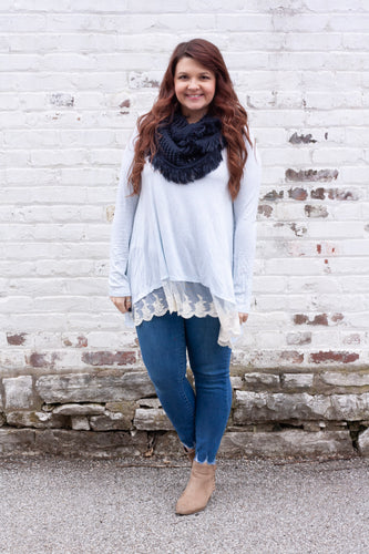 Selena Lace Tunic - Deal of the Week