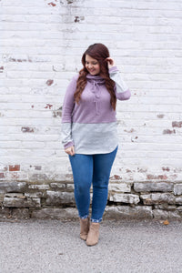 Forever and Ever - Colorblock Pullover