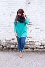Load image into Gallery viewer, Singing To The Sky Tunic - Bright Teal