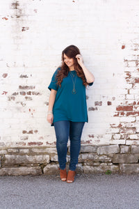 Miranda Tee in Teal - Deal of the Week