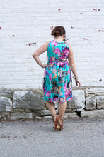 Load image into Gallery viewer, Lucy Floral Sleeveless Dress