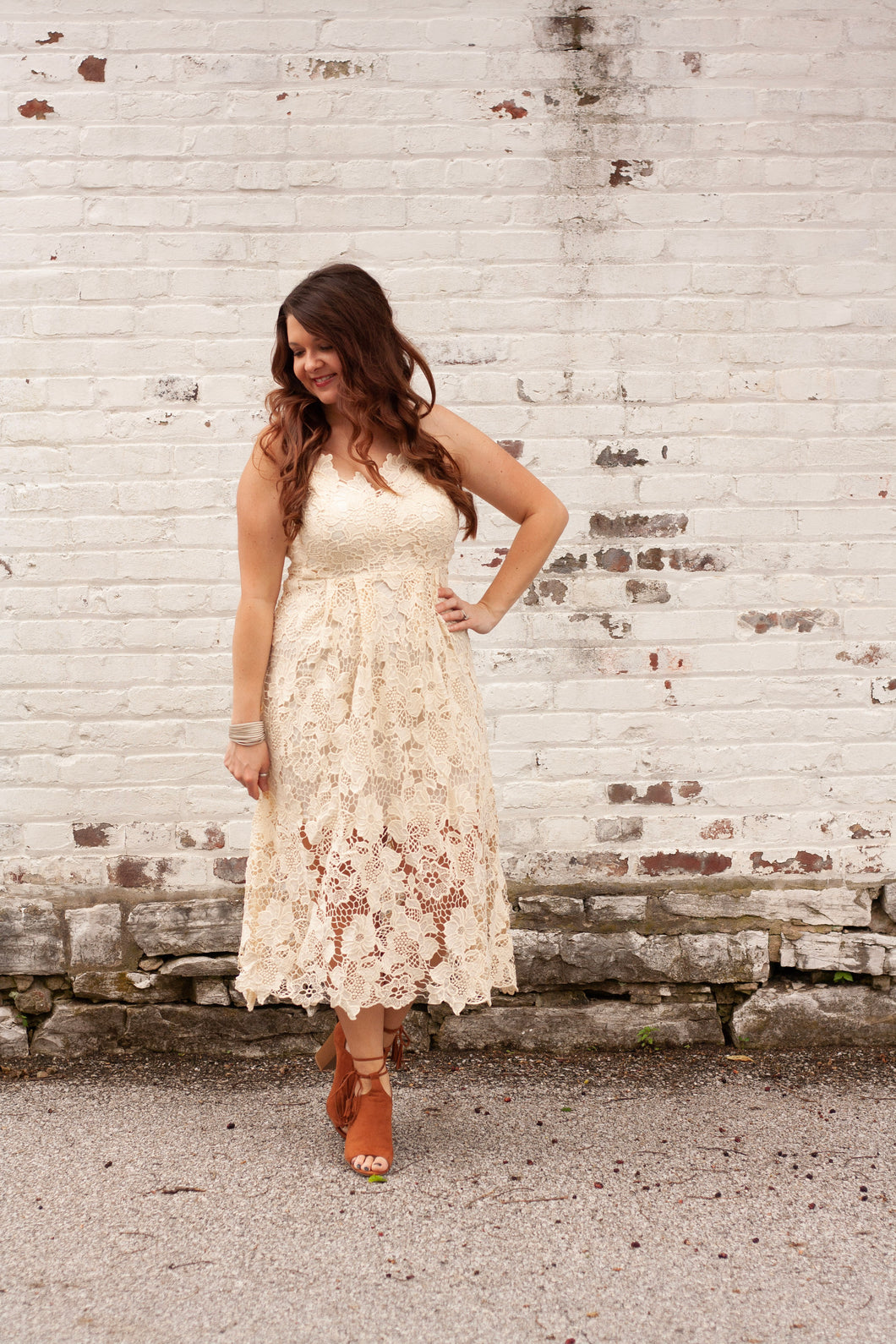 Delaney Lace Dress