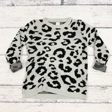 Load image into Gallery viewer, Josie Leopard Sweater in Gray