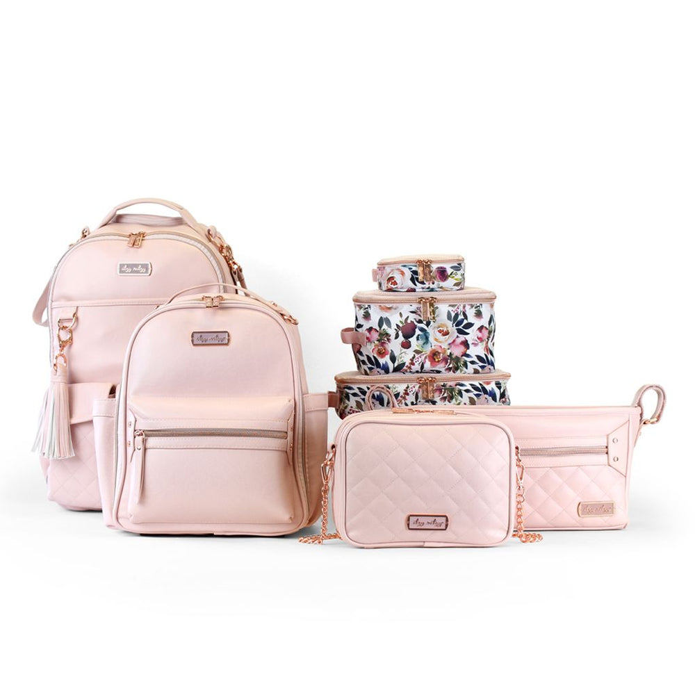 Itzy Ritzy Diaper Bag Backback - Blush