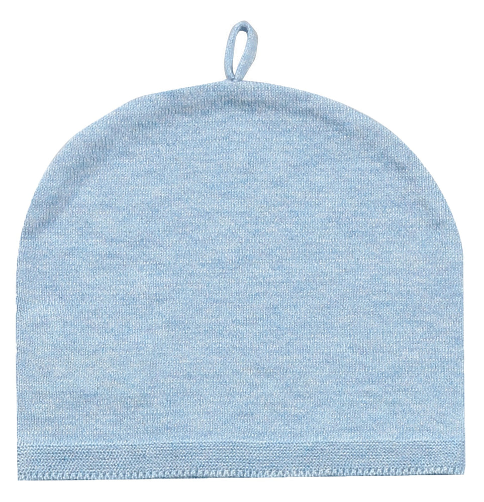 Angel Dear Classic Solid Beenie - Blue Heather
