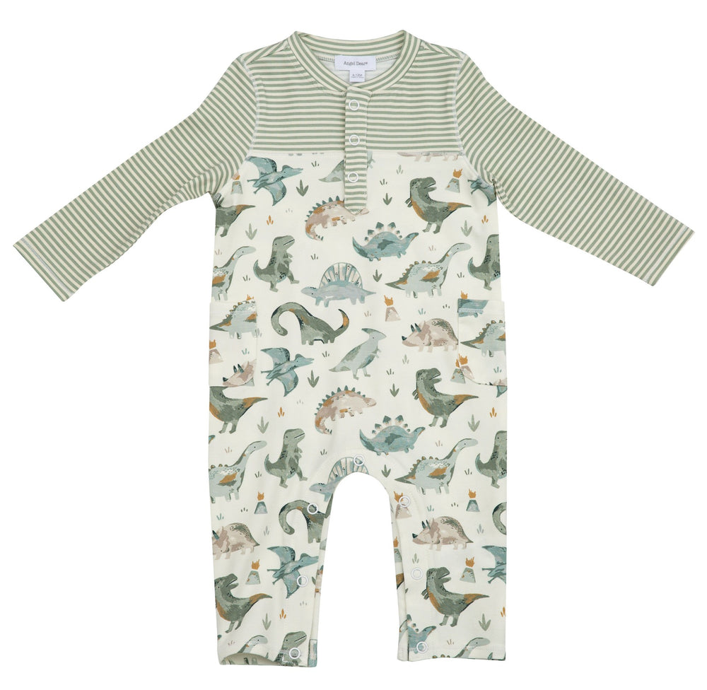 Angel Dear Dinosaur Romper