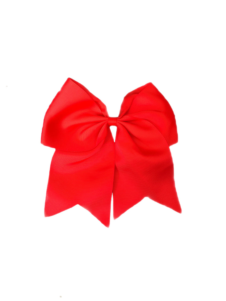 Bows & Headbands Red Cheer Ponytail Bow