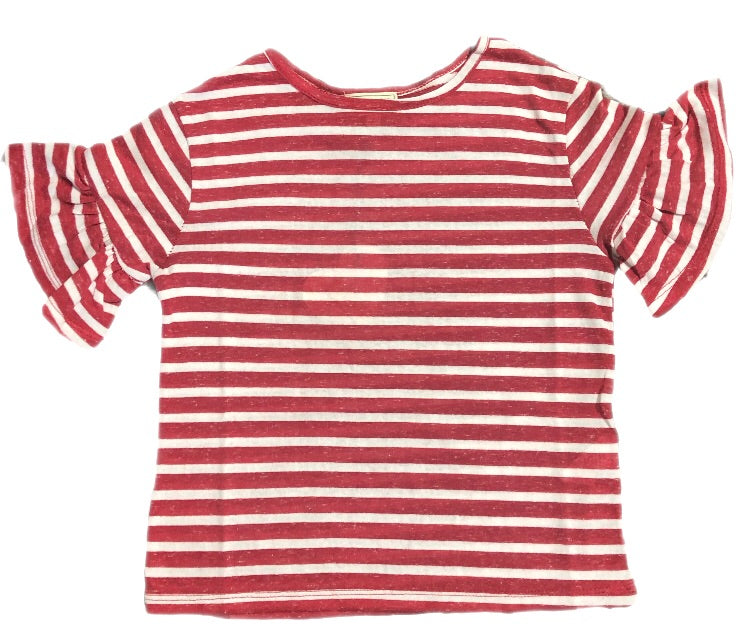 Hayden Red Striped Shirt