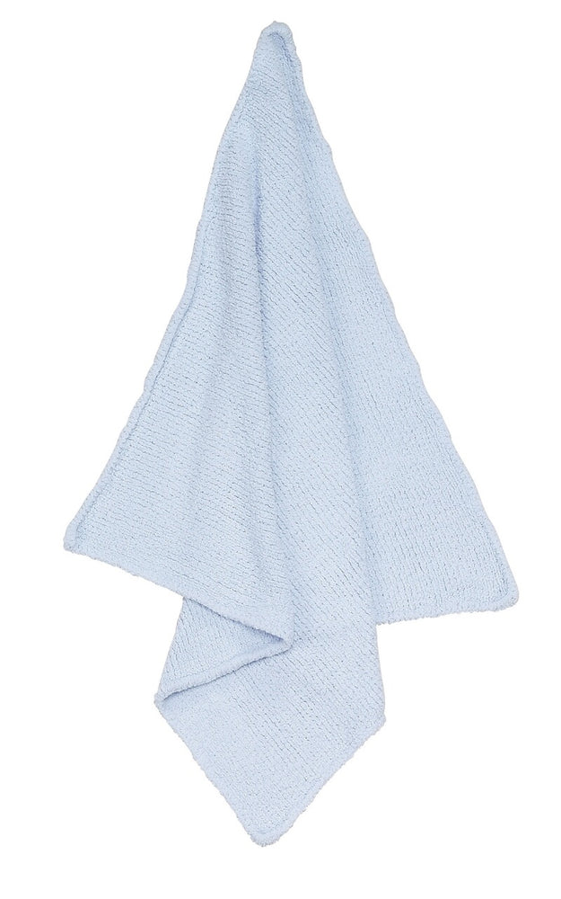 Angel Dear Chenille Blue Blanket