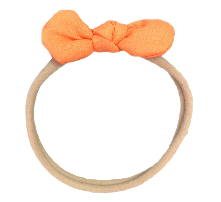 Bows & Headbands Orange Headband bow