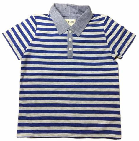 Me and Henry Striped Polo