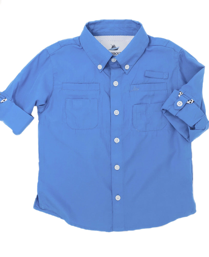 Southbound Blue Fishing Shirt