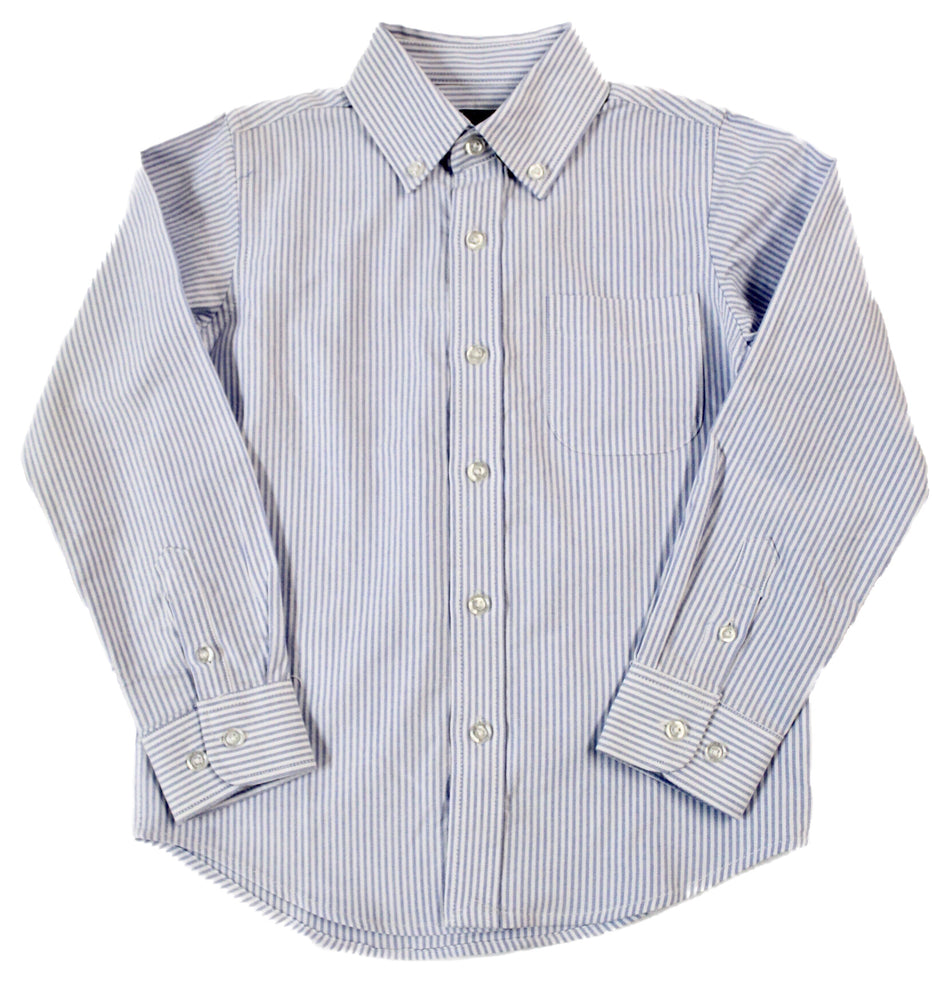 E.L.K. Blue and White stripe Oxford Button Down Shirt