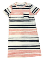 Sadie and Sage Kickback Stripe T-Shirt ADress