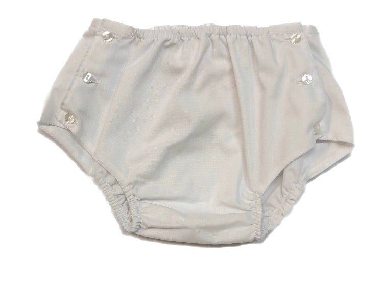 Rosalina White Button Side Bloomers