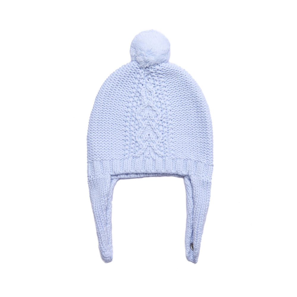 Angel Dear Pale Blue Pilot Hat