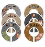 Mumsy Goose Baby Boy Clothes Dividers Nursery Closet Dividers Woodland