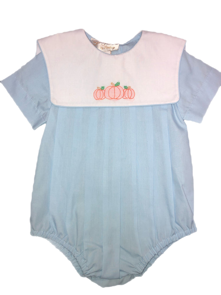 Rosalina Pumpkin embroidered Sky Blue Bubble