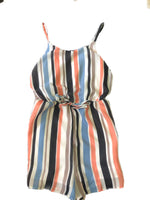 Sadie and Sage Stripe Cami Romper