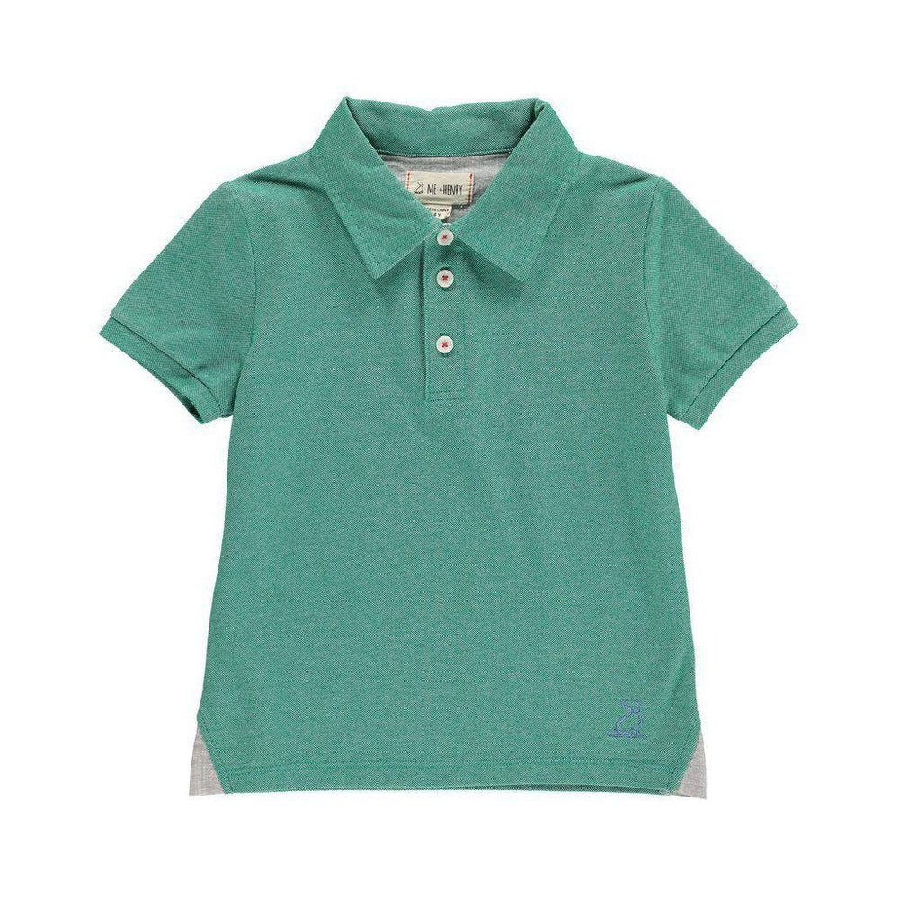 Me and Henry Green Polo Shirt