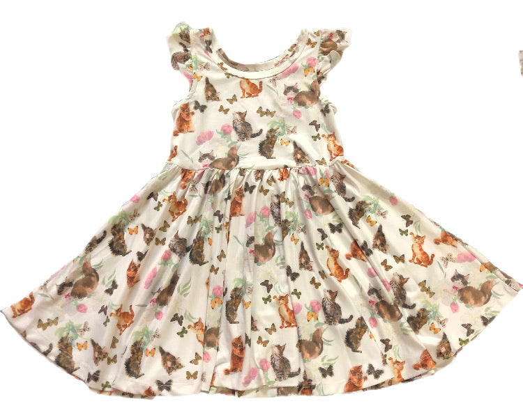 Cat & Butterflies Hugs Collection Dress