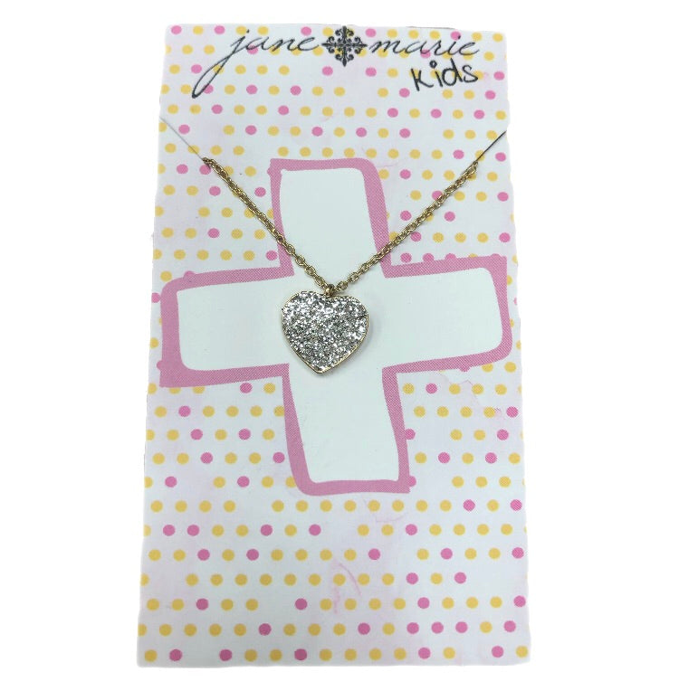 Jane Marie Heart Necklace