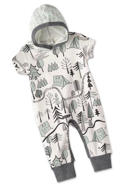 Tesa Babe Campout Hooded Romper