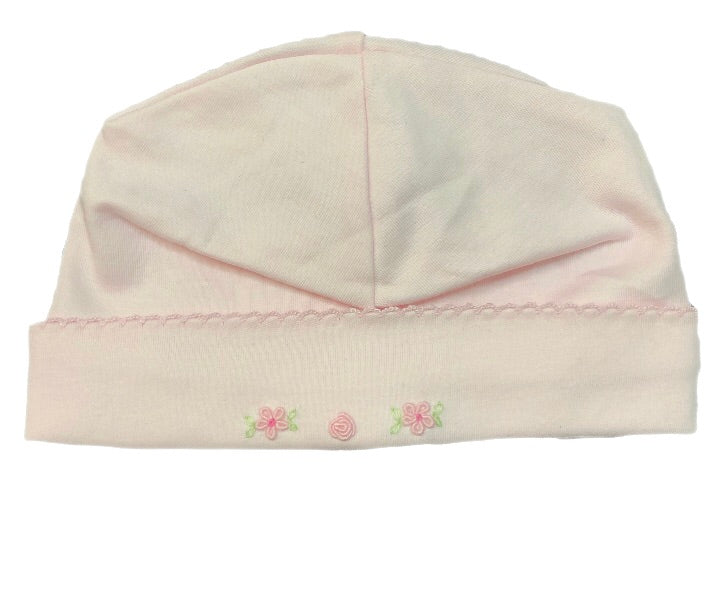 Feltman Brothers Light Pink Flower Hat