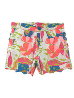 Ruffle Butts Floral Shorts