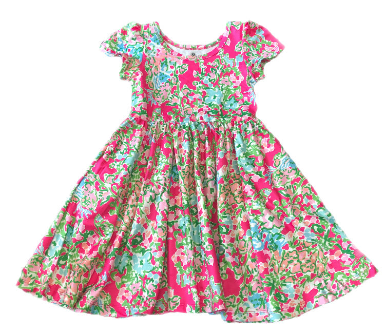 Charlie's Project Lilly flowers Hugs dress