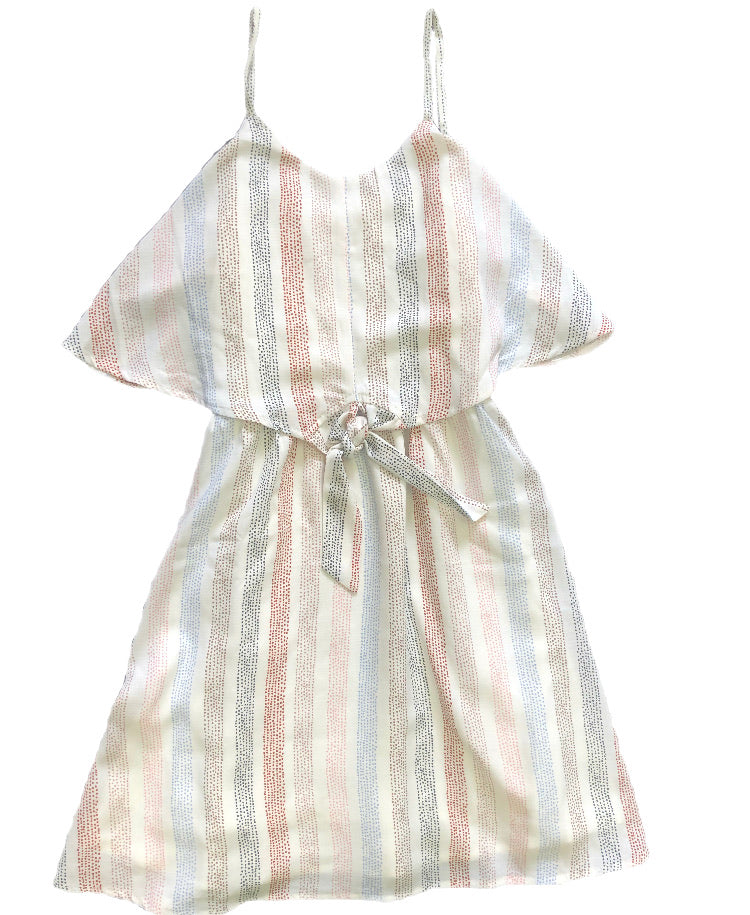 Sadie and Sage Stripe Tie Dress