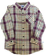 Rugged Butts Plaid Button Up Shirt