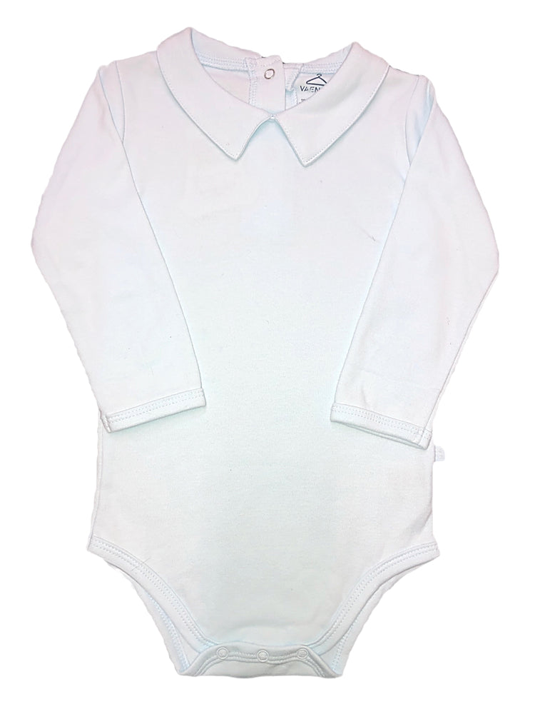 VaeNait Sky Blue Long Sleeve 100% Cotton Onesie