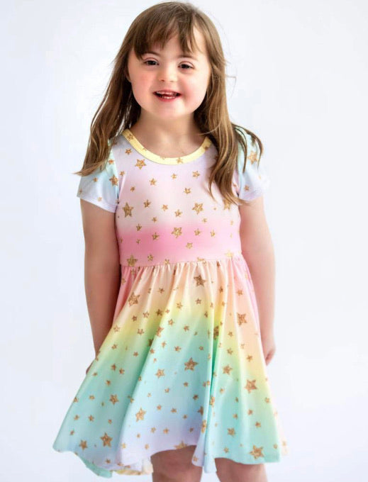 Charlie's Project Rainbow Star Hugs Collection Dress