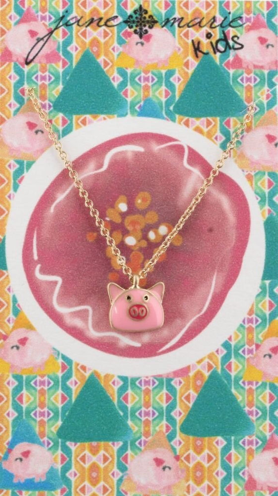 Jane Marie Pig Necklace