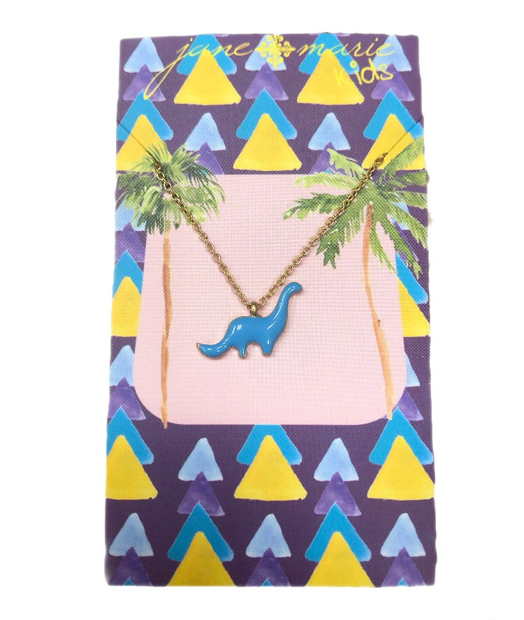 Jane Marie Dinosaur Necklace