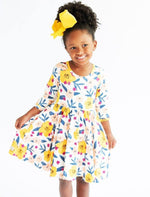 Charlie's Project Yellow Poppy Hugs Collection Dress