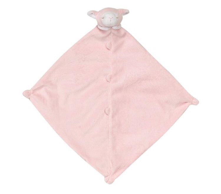 Angel Dear Pink Lamb Blankie