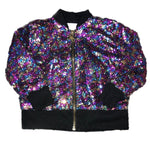 Mila and Rose Rainbow Sequin Jacket