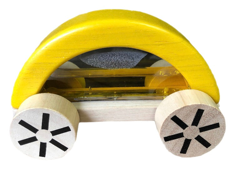 Plan Toys Yellow Wautomobile