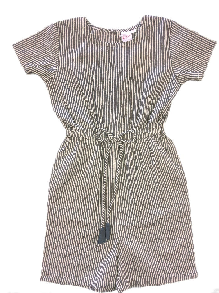 Yo Baby Striped Romper