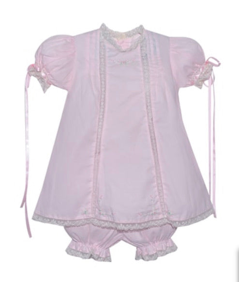 Remember Nguyen Pink Dress with Bloomers