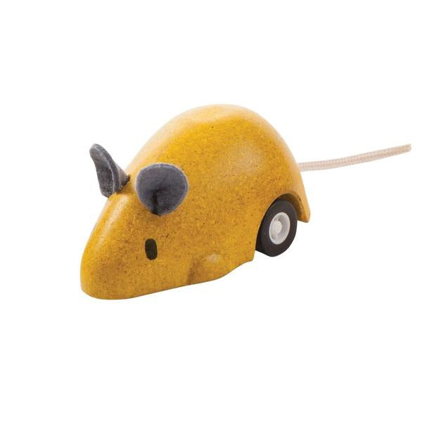 Plan Toys Yellow Moving Mouse